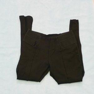 ZARA BASIC Black Legging Pants (Size M)